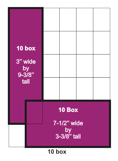 10 box ad